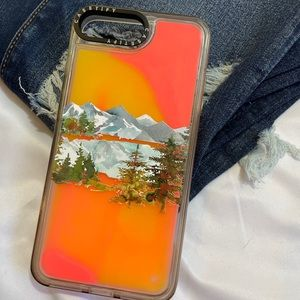 Casetify Neon Sand iPhone 8 PLUS Case custom A2